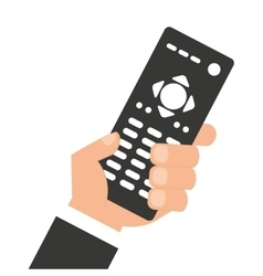 Control remote isolated icon vector