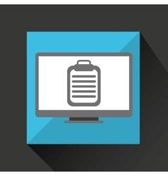 online medical health check vector image