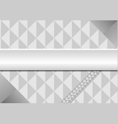 The triangle gray background vector