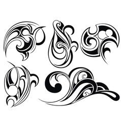 Tattoo elements vector image