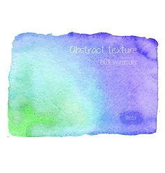 Real watercolor abstract texture vector