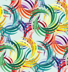 Abstract swirl pattern vector