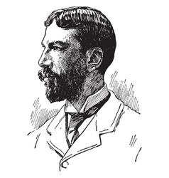 Arthur twining hadley vintage vector
