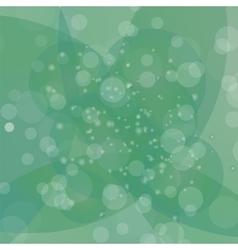 Circle green light background vector