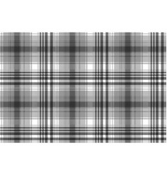 Gray black white pixel check plaid seamless vector