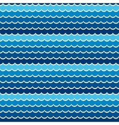 Seamless pattern sea or ocean vector