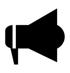 megaphone pictogram icon vector image