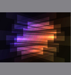multicolor spotlight reverse abstract background vector image vector image