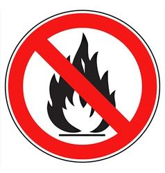No fire vector