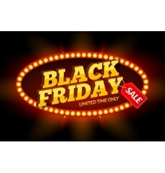 Black Friday SALE frame design template Black vector image vector image