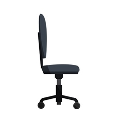 desk chair icon vector image vector image