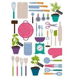 Kitchen kit vector
