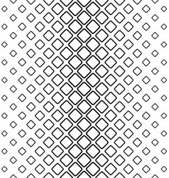 Monochrome abstract rounded square pattern vector image