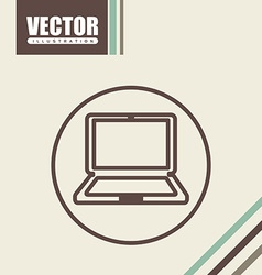 office and business icon design vector image vector image