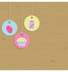 party tags vector image