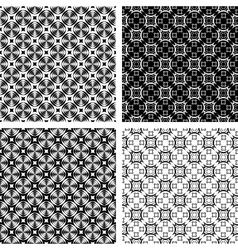 seamless geometric modern vector image vector image