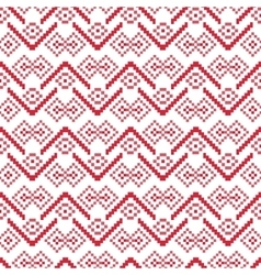 Seamless winter pattern geometry vector