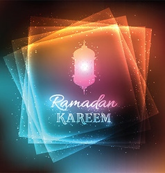 Decorative background for ramadan 1905 vector