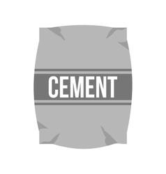 Cement bag vector