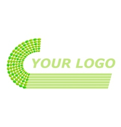 logo pattern vector image vector image