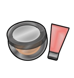 Makeup icon image vector