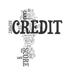 You are your credit score s worst enemy text word vector