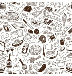 Cookery - seamless background vector