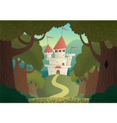 Castle Landscape vector image