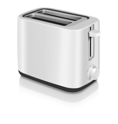 Photorealistic electric toaster vector