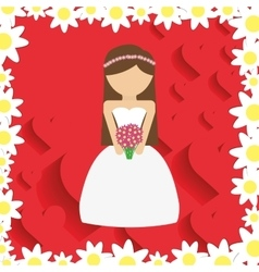 Wedding marriage love vector