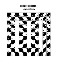 Optical  3d art distortion vector
