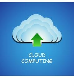 Cloud vector image vector image