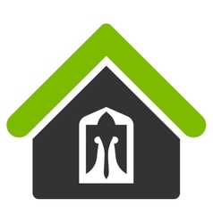 Home icon from business bicolor set vector
