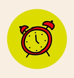 alarm design vector image