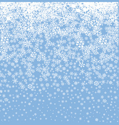 Snow background winter holiday snowy seamless vector