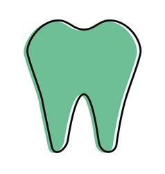 dental care symbol vector image