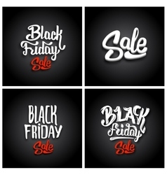 Black friday sale backgrounds vector