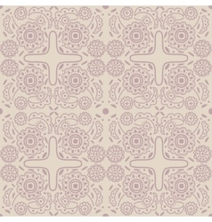 Old-fashioned outline pattern vector