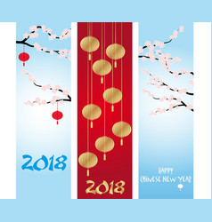 Chinese new year banners collections vector
