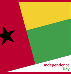 Guinea-bissau independence day vector