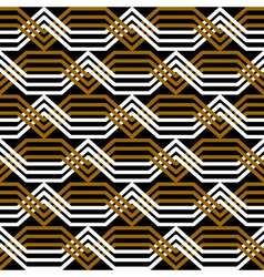 Seamless interlacing pattern vector image