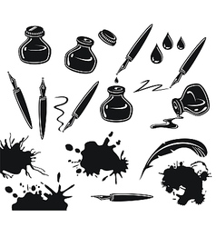 Ink Set vector image