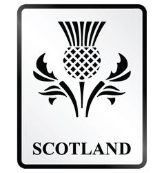 Scotland Sign vector image