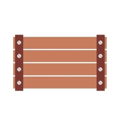 Farm fence isolated icon design vector