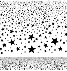 Abstract falling stars background vector