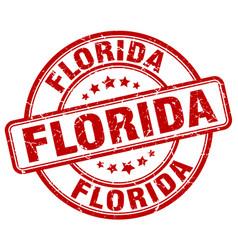 Florida stamp vector