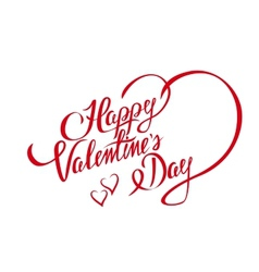 Happy valentines day design element with stylish vector