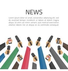 News banner poster template vector