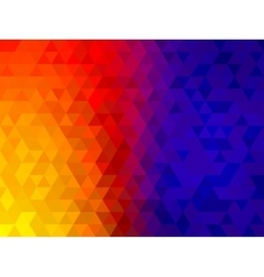 Polygonal background for webdesign - yellow red vector