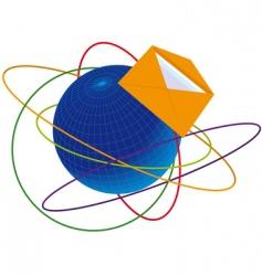 post envelope vector image
